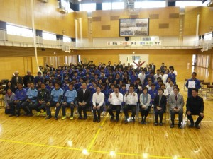 東京恵比寿RCとの共同PJ 亘理町立荒浜中学校